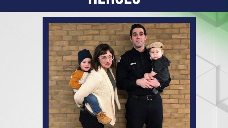 Honoring Our Frontlines Heroes: Samuel Ortega