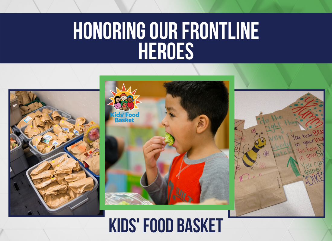 Honoring Our Frontline Heroes: Kids' Food Basket