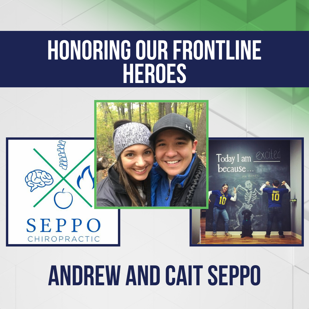 Honoring Our Frontline Heroes: Andrew and Cait Seppo