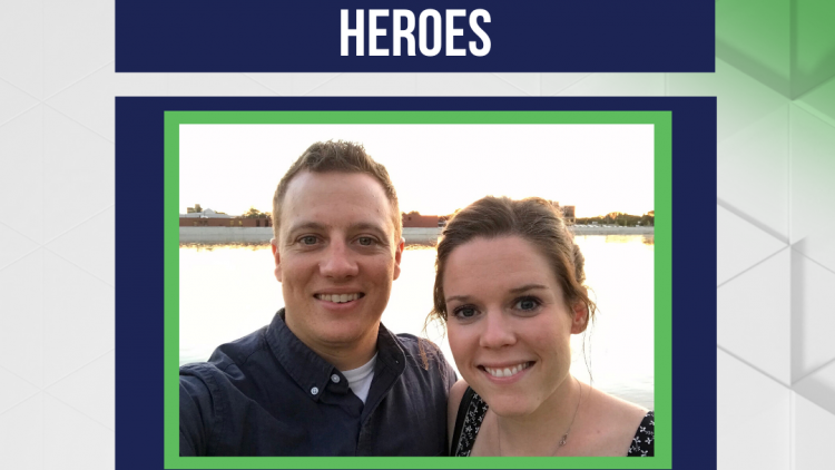 Honoring Our Frontline Heroes: Tayler and Mike Kooienga